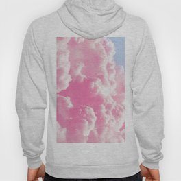 Retro cotton candy clouds Hoody