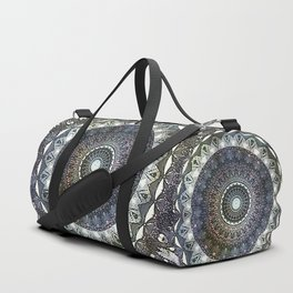 Distressed Mandala Duffle Bag