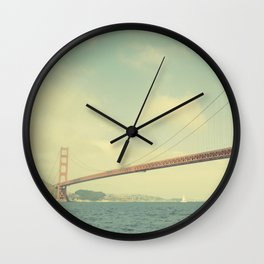 Golden Gate Wall Clock