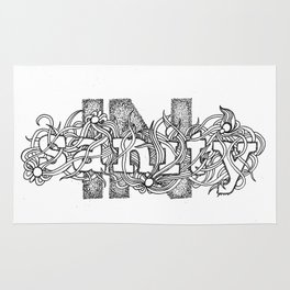 (IN)SANITY Rug