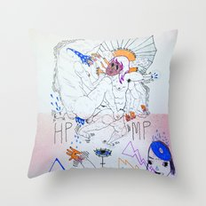 bossfight Throw Pillow