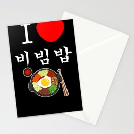 Bibimbap Korea Japan KPOP Korean Stationery Cards
