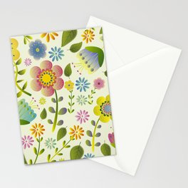 Petty Floral Pattern 2 Stationery Cards