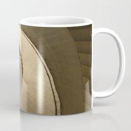 Spiral stairs in brown tones Coffee Mug