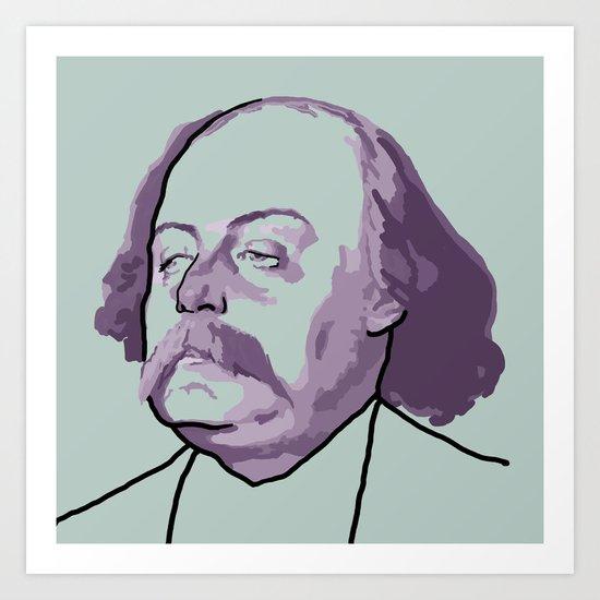 Gustave Flaubert Art Print