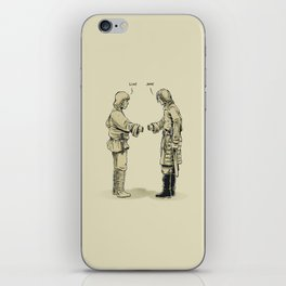 Pleased To Meet You iPhone Skin