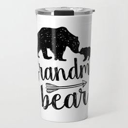 Grandma Bear Mothers Day Gift Travel Mug