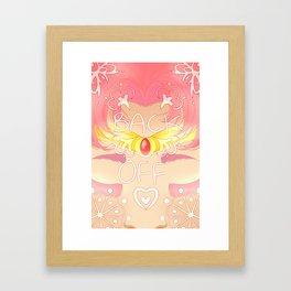 Small Lady Framed Art Print