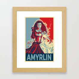 Elect the Amyrlin Framed Art Print