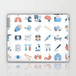 CUTE MEDICINE / SCIENCE / DOCTOR PATTERN Laptop & iPad Skin