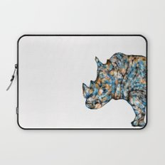 Rhino-no text Laptop Sleeve