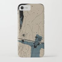 moby dick iPhone & iPod Cases featuring Moby dick by danb