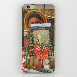 The Pineapple Man iPhone Skin