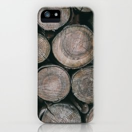 Log Ends iPhone Case
