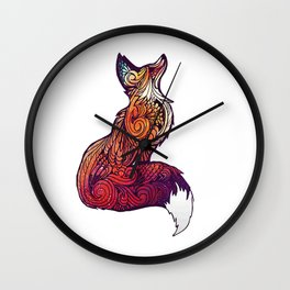 space oh for fox sake Wall Clock