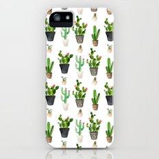 Cactus Pattern Slim Case iPhone SE