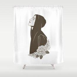 Elliot Alderson Shower Curtain