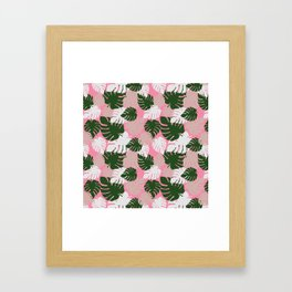 Camo Palm No.7 Framed Art Print