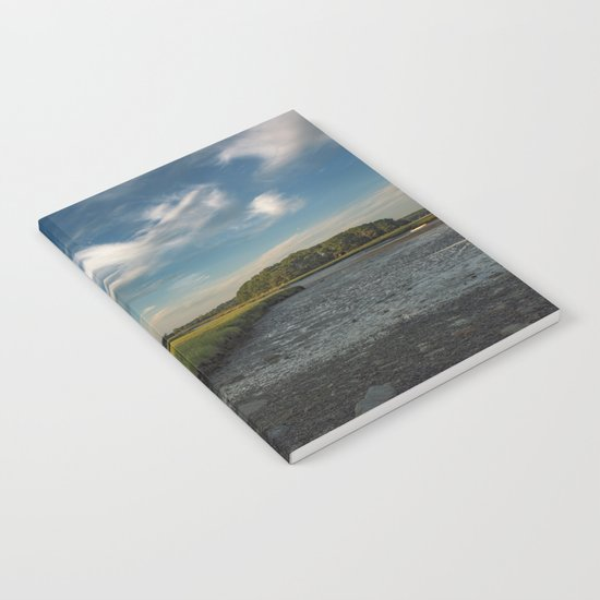 Sky and marsh Notebook