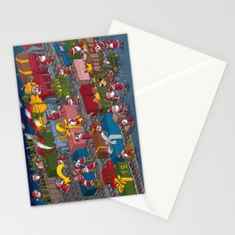 Christmas rerailed Stationery Cards