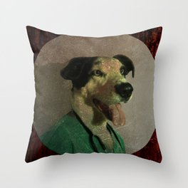 Dr. Pongo Throw Pillow