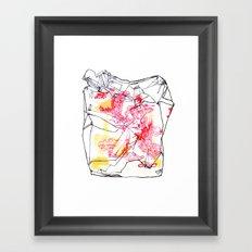 Wong's Wok Framed Art Print