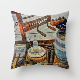 Shiner Throw Pillow