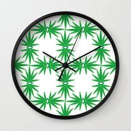 Funky Flower 01B Wall Clock