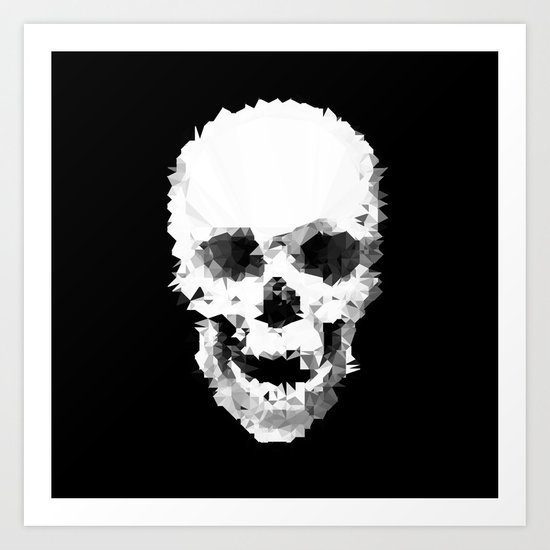 Polyskull Art Print