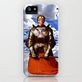 Penitent - Joan of Arc iPhone Case