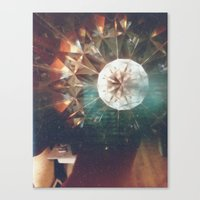 trippy Canvas Prints featuring Trippy by Hannah Young
