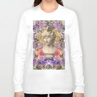 holographic Long Sleeve T-shirts featuring mercury dreams of amethyst olympus by STORMYMADE