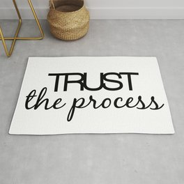 Trust The Process Rug