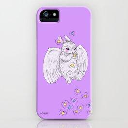 angel bunny iPhone Case