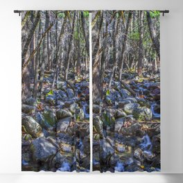 Yosemite Woodland Blackout Curtain