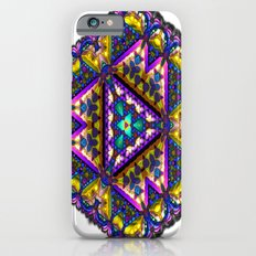 Stained-Glass Snowflake A Slim Case iPhone 6s