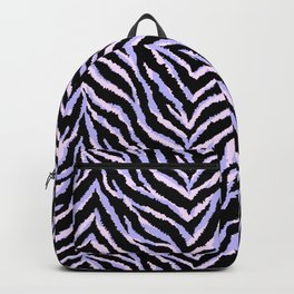 Zebra fur texture print II Backpack