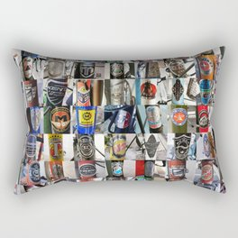 Bike Head Badges Rectangular Pillow