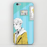 kieren walker iPhone & iPod Skins featuring In The Flesh - Kieren  by Cy-lindric
