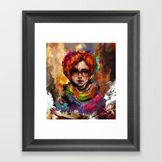 Vel Framed Art Print
