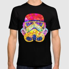 SpaceStorm Black Mens Fitted Tee SMALL