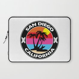 Surf San Diego California Laptop Sleeve