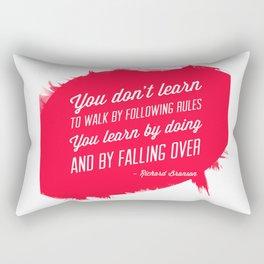 Richard Branson success quote Rectangular Pillow