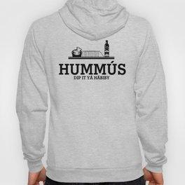 HUMMUS Black Hoody