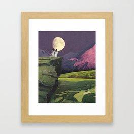 Sacred Moon Framed Art Print