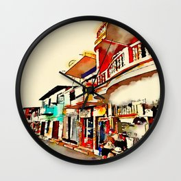 Antique San Cristobal  Wall Clock