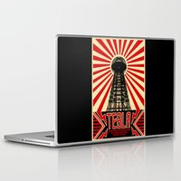 tesla Laptop & iPad Skins featuring Tesla by Octavia Soldani