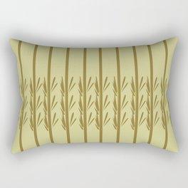 Exotic design bamboos Rectangular Pillow