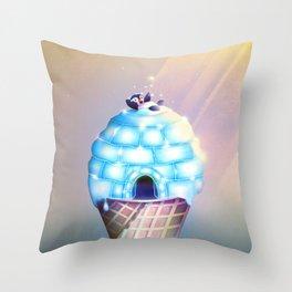 Igloo Flavour Throw Pillow