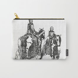 X-Ray Horsemen Carry-All Pouch